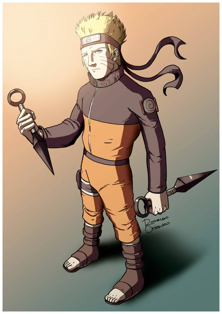 Naruto - Ilustração Digital