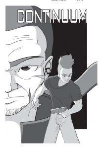 Continuum Capa - Quadrinhos