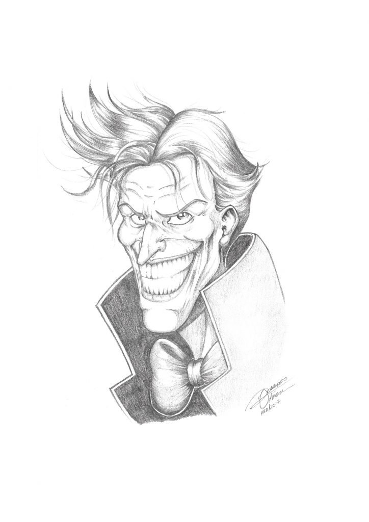 Personagem Joker DC Comics - Rodrigo Otäguro
